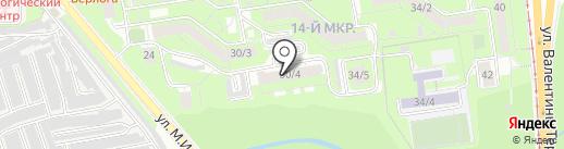 Фрунзенская коллегия адвокатов на карте Липецка