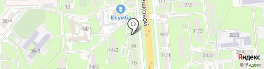 Иномарка 48 на карте Липецка