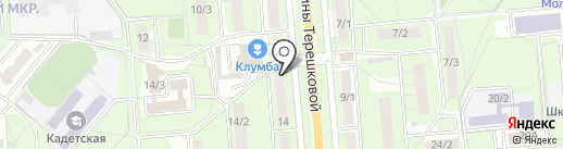 Ажур на карте Липецка