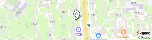 Работа в городе на карте Липецка