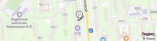 Визовый центр на карте Липецка