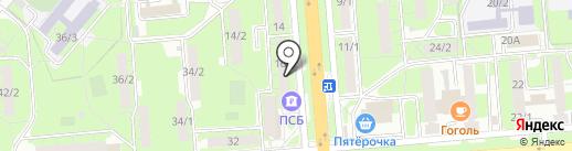 Адвокатский кабинет Дорофеева А.В. на карте Липецка