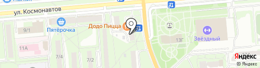 СССР на карте Липецка