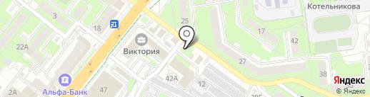 Товары Гусь-Хрустального на карте Липецка