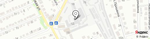 Микс-мебель на карте Липецка