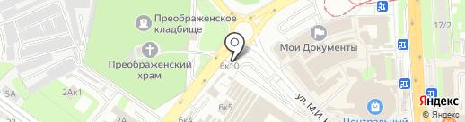 Липецкзооветснаб на карте Липецка