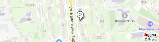 ТекСтильный комфорт на карте Липецка