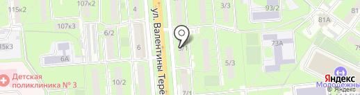 Янтарный двор на карте Липецка