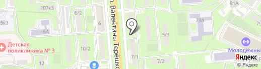 Зазеркалье на карте Липецка