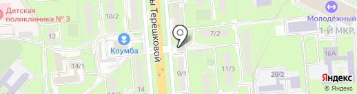 Внешпромбанк на карте Липецка