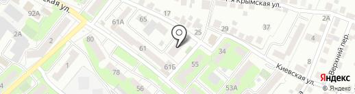 КВАНТ-ТЕЛЕКОМ на карте Липецка