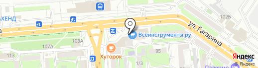 Магазин цветов на карте Липецка