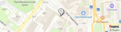 Светлана на карте Липецка