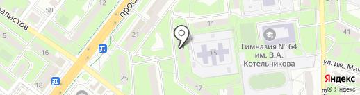 Т-Студия на карте Липецка