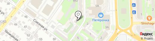 Бар на карте Липецка