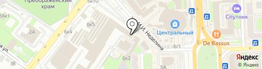 Кафе48 на карте Липецка