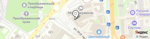 Ника на карте Липецка