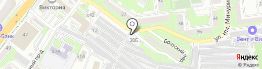 Протектор 48 на карте Липецка