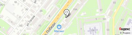 СКБ-банк, ПАО на карте Липецка