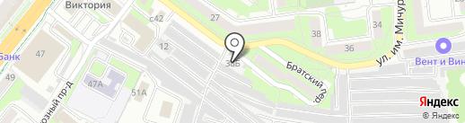 Металлист-16 на карте Липецка