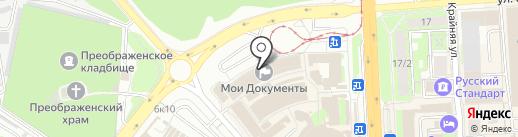 Мои документы на карте Липецка
