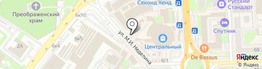 Радужный на карте Липецка