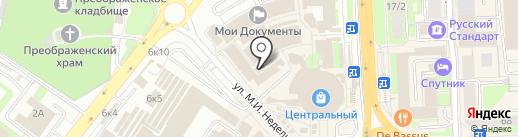 Магазин халатов и нижнего белья на карте Липецка
