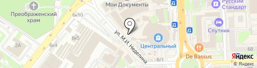 Мастерская по изготовлению ключей на карте Липецка