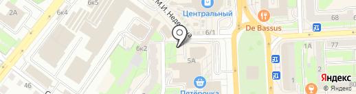 Наш сад на карте Липецка