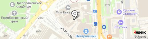 Липецксортсемовощ на карте Липецка