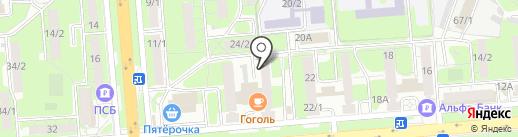 Липецкий городской совет ветеранов ОВД и внутренних войск на карте Липецка