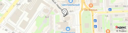Мастерская по ремонту сотовых телефонов на карте Липецка