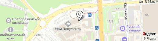 Магазин хозтоваров на карте Липецка