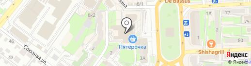 Банкомат, Центрально-Черноземный банк Сбербанка России на карте Липецка