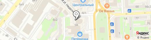 Мастерская по ремонту обуви и сумок на карте Липецка