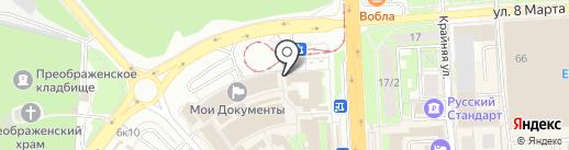 Банкомат, АКБ Российский капитал, ПАО на карте Липецка