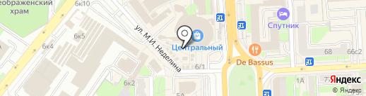 Киоск аудио и видеодисков на карте Липецка