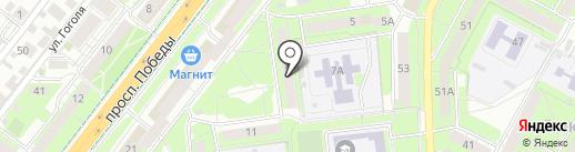 Геомир на карте Липецка
