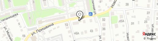 Пятачок на карте Липецка
