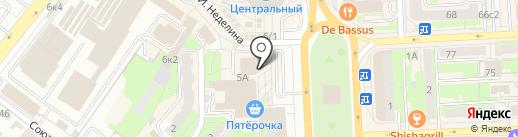 МТС на карте Липецка