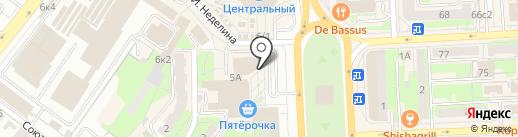 Точка займа на карте Липецка