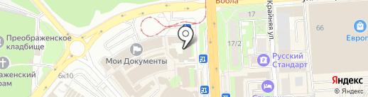 Мой недорогой на карте Липецка