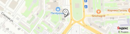 Мир пальто на карте Липецка