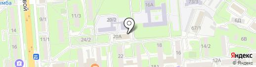 WEGS на карте Липецка