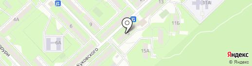 Отражение на карте Липецка