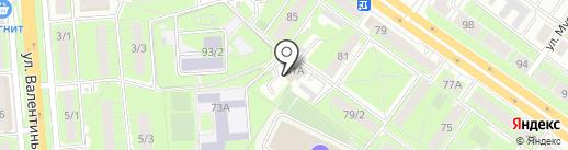 Сервис 48 на карте Липецка