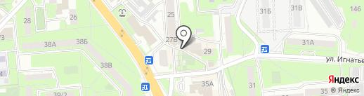 Ассорти на карте Липецка