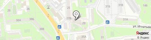 Союз офицеров ВДВ и ветеранов боевых действий на карте Липецка