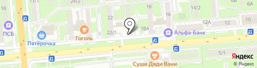 Платежный терминал, Банк УралСиб, ПАО на карте Липецка