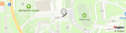 Жерар Оливер на карте Липецка
